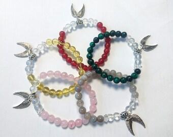 Archangel crystal bracelets