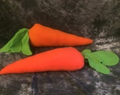 Carrot plush prop or pillow