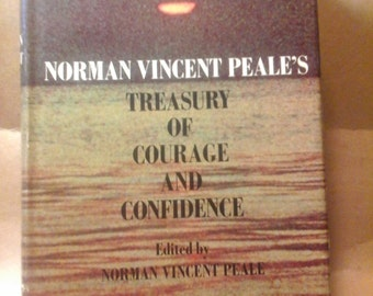 Norman Vincent Peale, signed copy, Treasure of Courage & Confidence