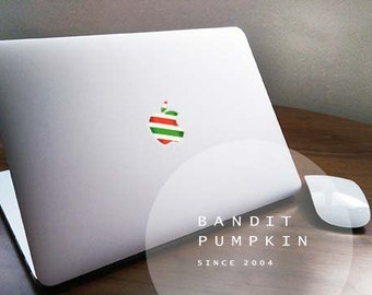 CandyStripeApple Macbook Matt/Gloss Translucent Decal