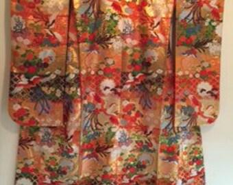 REDUCED Japanese Wedding Kimono
