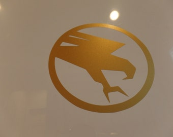 Command & Conquer GDI Gloss Gold Metallic Vinyl Decal Sticker
