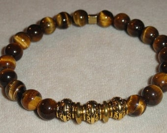 Brown Tiger Eye Bracelet