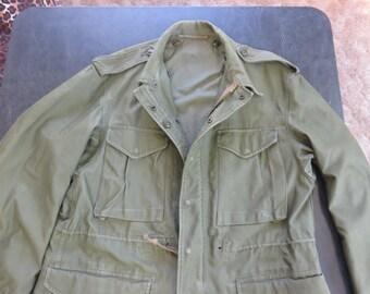 Vintage Original Korean War US Army War Field Jacket