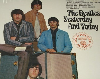 The Beatles vinyl record, Yestersday And Today vintage record album