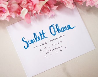 Water Color Calligraphy