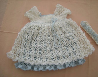 Crochet party dress
