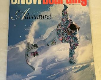Vintage Transworld Snowboarding Adventure Magazine Vol. 2 #3