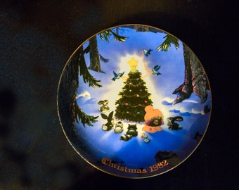 Ziggy 1982 Christmas Plate