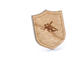 Ultimate Frisbee Lapel Pin, Wooden Pin, Wooden Lapel, Gift For Him or Her, Wedding Gifts, Groomsman Gifts, and Personalized