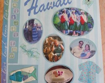CUSTOM SCRAPBOOK! Hawaiian Vacation! Price Reduced!! Hawaiian Vacation 12x12 custom scrapbook with your photos!