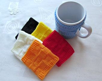 Coffee Cup Cozy, Choose Your Color, Big Mug Cozy, Mother's Day Gift, Cup Sleeve, Knitted Mug Cosy, Coffee Cup Holder, Mug Sweater, Cup Cozy