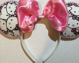 Hello Kitty Inspired Ears
