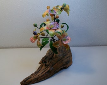 Orchidi Tree From Hand Made Porcelain