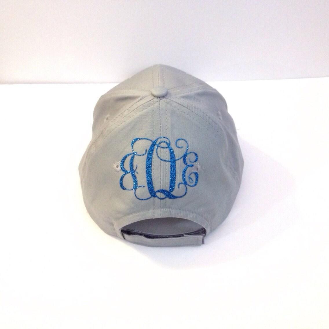 monogram hat personalized hat monogram baseball hat