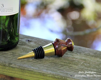 Made Hand Turned Bottle Stoppers (Custom Made Available)