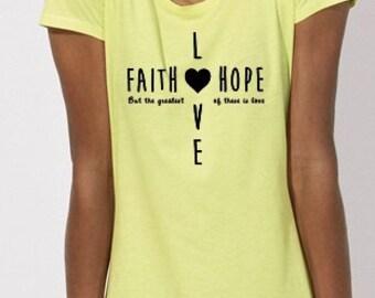 Limited Edition Summer Faith Hope Love Tee