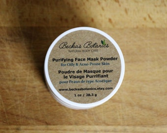 Purifying Face Mask Powder for Oily & Acne-prone Skin
