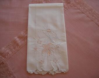 Vintage Marghab or Madeira Guest Towel Tea Towel