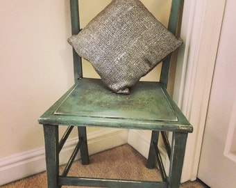 Gorgeous chair painted in Annie sloan chalk paint