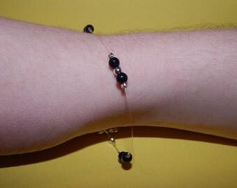 Bracelet Pearl blue sand stone