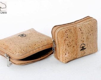 Cork Purse, Coins, keys - purse Cork for coins and keys.