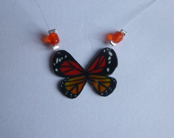 Clamps Butterfly Grand red/orange