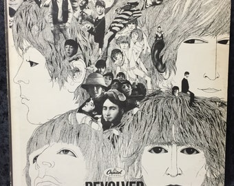 "The Beatles ""Revolver"" 1966 Mono First Pressing"