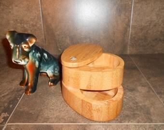 Heritagemint Wooden Salt Box