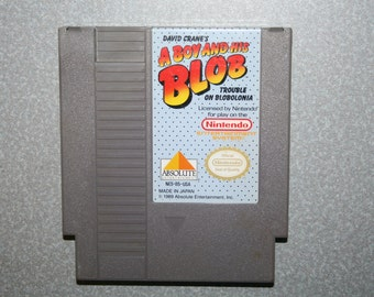 A Boy and His Blob Nintendo Game NES lot 2 Free Shipping