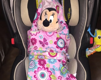 One layer car seat blanket