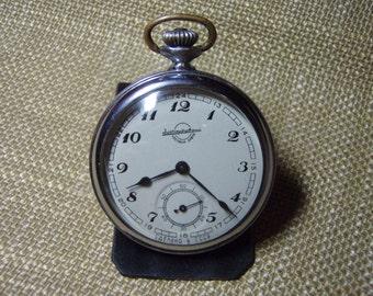 "Vintage Pocket Watch ""Zlatoust"" Working Mechanical Mens Pocket Watch 3rd quarter 1958 from Soviet Union USSR"