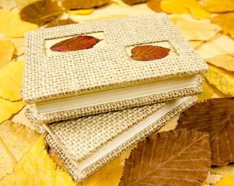 Handmade Notebook with Coptic binding