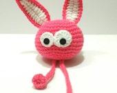 Plush Bunny, pink Bunny, Nonochoux Bing nonochoux