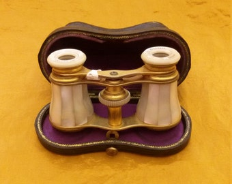 Old opera glasses