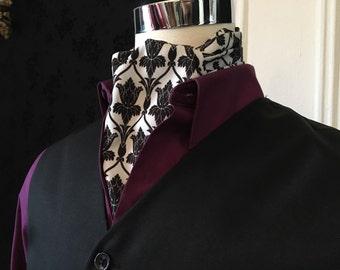 Sherlock Inspired Ascot Cravat