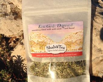 Ein Gedi Digestif Organic Herbal Tea from Israel, with Fennel Seed, Carob, and more...