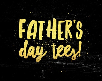 Metallic Fathers Day special edition shirts