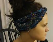 Free Ship in USA Lavender Filled Turban Head Aromatherapy Wrap