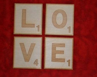 5 inch Scrabble Letters
