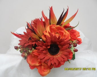 Orange Autumn Bouquet