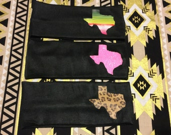 Black Texas Headband {non-slip} {39 Color Options}{can do any state}