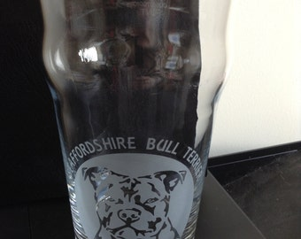 Breed Etched Pint Glasses