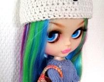 Crochet Doll bag, Blythe bag, multicolor doll bag, Ellowyne Wilde bag, Tyler bag, doll clutch, doll tote, Blythe rainbow bag