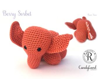 Berry Sorbet Emily - orange elephant
