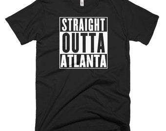 Compton T Shirt, Nwa, Nwa T Shirt, Men Urban Clothing, Urban Tees, Urban T Shirt, Outta T Shirt, Atlanta T Shirt, Custom T Shirt