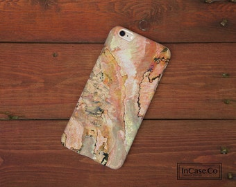 Pink Shell Phone Case. Pink Marble. For iPhone Case, Samsung Case, LG Case, Nokia Case, Blackberry Case and More!