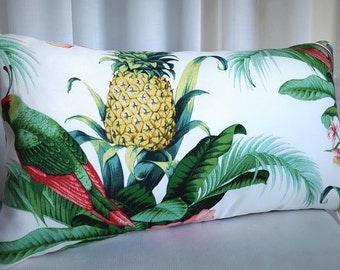 Tropical 30x50cm Lumbar Cushion Indoor Outdoor Tommy Bahama Fabric