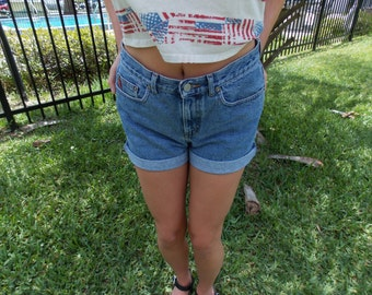 Guess Jeans High Waisted Shorts