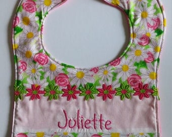Personalized Infant and Toddler Bibs